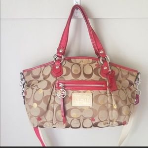 Coach Poppy Rocker Bag